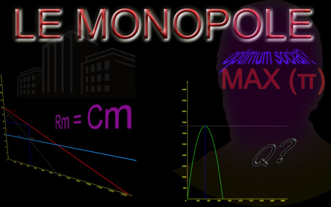 Le Monopole : équilibre et optimum social